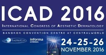 24 - 26 พฤศจิกายน 2559, ICAD 2016