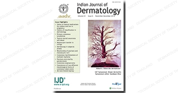 Indian Journal of Dermatology