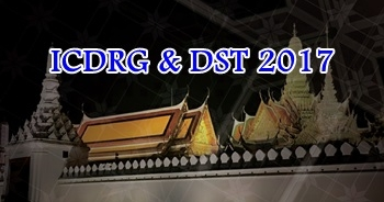 22 - 24 March 2017, ICDRG & DST 2017